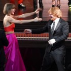 Taylor Swift Reacts to Ed Sheeran's Grammy Win in the Most Taylor Swift-Like Way Possible