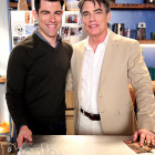 Max Greenfield's Surprising Connection to His New Girl Costar Peter Gallagher