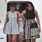 "Michelle Obama's Favorite Thing to Do With Sasha and Malia? ""Catch Up on the Gossip"""