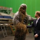 And Now, an Amusing Behind-the-Scenes Story From the Royal Visit to the Star Wars Set
