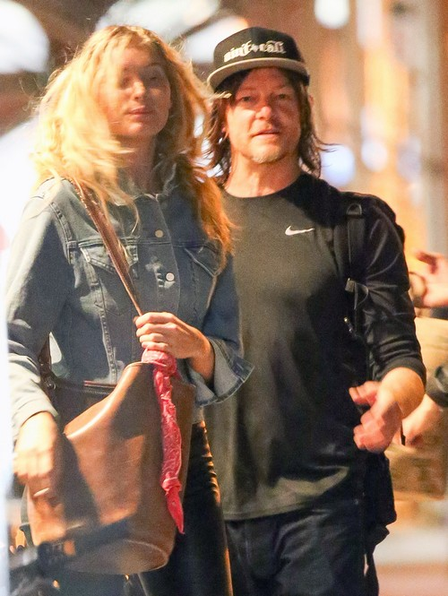 Norman Reedus Dating Mystery Blonde: Moved On From Diane Kruger Fling