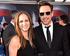 Robert Downey Jr. Attends Captain America: Civil War Premiere With Wife Susan