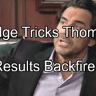 The Bold and the Beautiful (B&B) Spoilers: Ridge Ships Thomas To Europe To Hide Paternity Secret – Plan Backfires