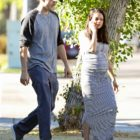 Mila Kunis and Her Baby Bump Look Lovely While Out in LA With Ashton Kutcher