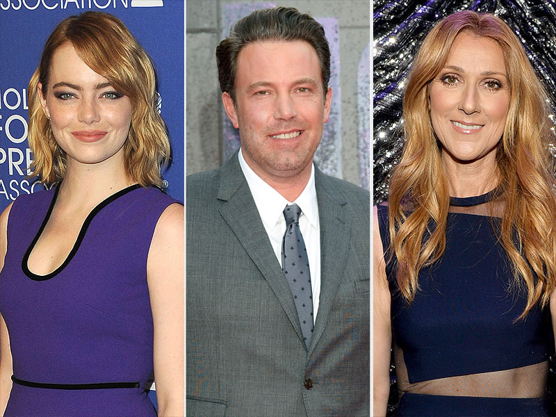 Stand Up to Cancer Lineup: Ben Affleck, Matthew McConaughey, Celine Dion