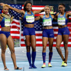 U.S. Women Win Historical 6th Consecutive Gold in 4×400-Meter Relay Race