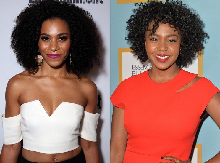 Kelly McCreary and Jerrika Hinton, side by side