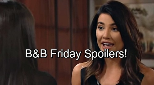 The Bold and the Beautiful Spoilers: Steffy Threatens Wyatt Divorce, Quinn Offers To Leave Eric – Ridge Sniffing Around Brooke