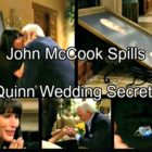 'The Bold and the Beautiful' Spoilers: John McCook Dishes on Quinn's True Motives, Eric's Rage and the Wedding Boycott