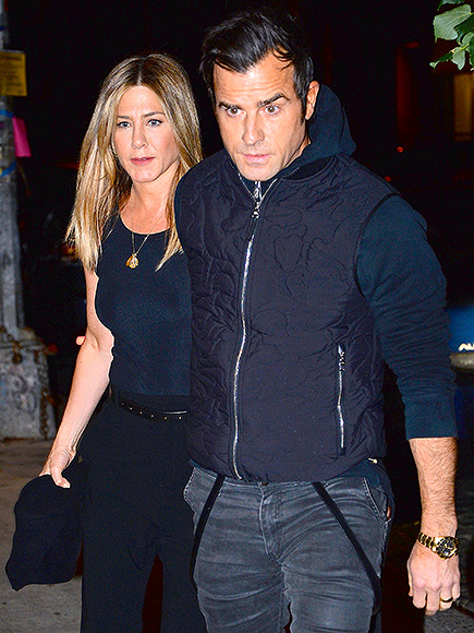 Jennifer Aniston and Justin Theroux Step Out for a Date Night in NYC