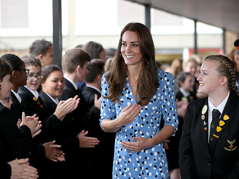 Princess Kate Tells School Girl: 'Never Give Up' on Your Dreams| The British Royals, The Royals, Kate Middleton, Prince William