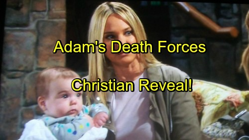 The Young and the Restless Spoilers: Adam's Death Forces Christian Reveal - Sharon Couples With Justin Hartley Replacement?