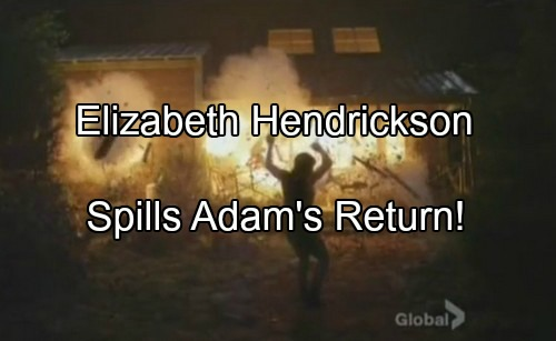 The Young and the Restless Spoilers: Elizabeth Hendrickson Hints Adam's Alive – Chloe Didn't Kill Him, Who's Hiding Adam?