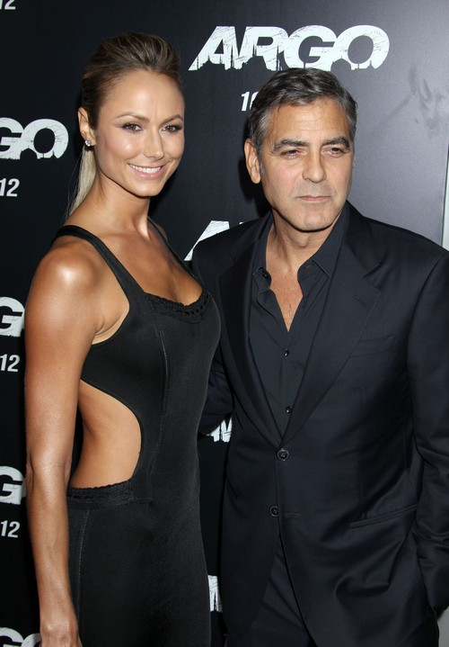 Amal Alamuddin Skips George Clooney's Halloween Bash: Intimidated By Gorgeous Stacy Kiebler