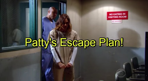 The Young and the Restless Spoilers: Patty's Escape Plan - Mariah and Sharon Plot to Bury Sully Secret Forever, Paul Intervenes