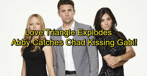 Days of Our Lives Spoilers: Chad and Gabi's Feelings Explode with Passionate Kiss – Jealous Abigail Longs for Chad