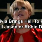 General Hospital Spoilers: Olivia Jerome Poisons Jason – Will She Kill Robin? Revenge Plan Revealed