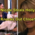 Days of Our Lives Spoilers: Nicole Steals Holly in Daring Kidnapping – Chloe Calls the Cops, Brady and Deimos Scramble