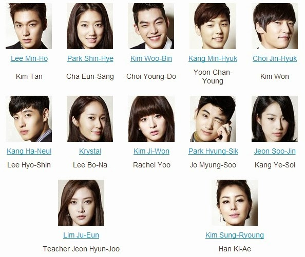 download foto pemain the heirs